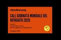 #NeverMoreFreezing – Call per artisti ed evento in streaming per la Giornata mondiale del Rifugiato 2020