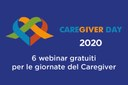 """Caregiver day 2020 - Partecipare a gruppi di auto mutuoaiuto """"a distanza"""""""