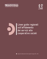 Linee guida regionali sull'affidamento dei servizi alle cooperative sociali