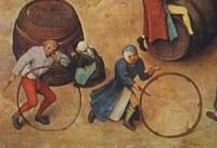 Pieter Bruegel, Giochi di bambini (part.)