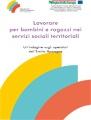 Copertina Lavorare per bambini e ragazzi nei servizi sociali territoriali