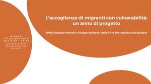 Bologna, accoglienza di migranti vulnerabili