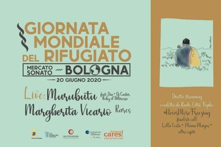 Giornata mondiale del Rifugiato, musica e performance artistiche al Mercato Sonato di Bologna