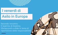 """I venerdì di """"Asilo in Europa"""". Secondo incontro il 4 dicembre 2020"""