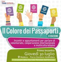 """""""Il colore dei passaporti"""", incontri sul multiculturalismo"""