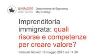 Imprenditoria immigrata. Risorse e competenze