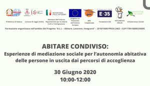 Reggio Emilia, webinar (in)formativo sull'abitare condiviso