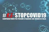 #ReStopCovid19. La nuova campagna video per persone straniere