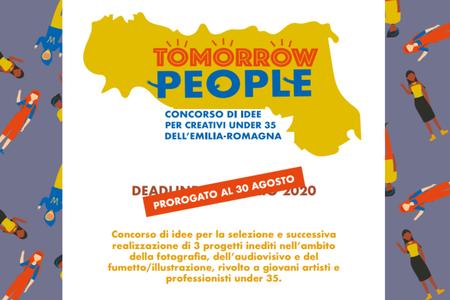 """SCADENZA PROROGATA - """"Tomorrow people"""", concorso per giovani talenti: racconteranno la diversità culturale in Emilia-Romagna"""