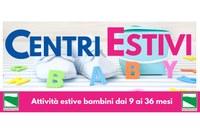 Attività estive specificamente dedicate a bambine e bambini dai 9 ai 36 mesi di età. Tutte le misure per la riapertura in Emilia-Romagna dal 22 giugno