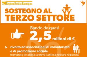 Dalla Regione sostegno al Terzo settore: ecco il bando da 2,5 milioni di euro per le spese sostenute durante il lockdown