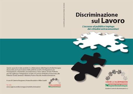 Copertina Discriminazione sul lavoro